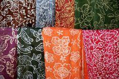 Silk Scarves, Ubud Market, Bali