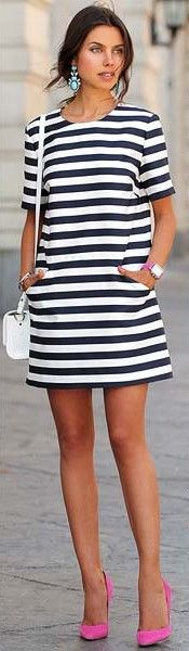 Vestido reto/ Shift dress