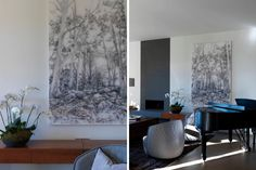 INTERIORS STUDIO — ALWILL Contemporary Design, Tapestry, Rugs, Studio, Painting, Interiors, Home Decor, Hanging Tapestry, Farmhouse Rugs