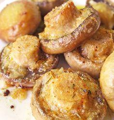 Roasted Garlic & Thyme Mushrooms... Happy Hour Appetizers 26 | Hampton Roads Happy Hour - g.7.5