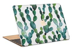 Cactus Macbook Case by NJsBoutiqueCo on Etsy