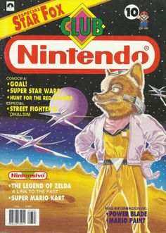 Club Nintendo Año 02 Nº 10 Star Fox (SNES) Junio 1993 Español Chile