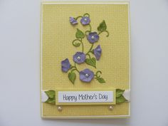 Happy Mother's Day Card For Her Mom Mother by SassyScrapsCrafts