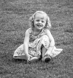 Ray Lockyer Yeovil Wedding Photographer - Little girl enjoying the wedding at Haselbury Mill