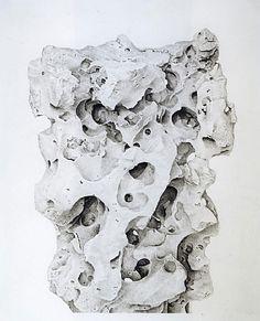 Scholar's rocks. Drawings by Liu Dan