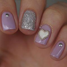 valentine by lovessweetas #nail #nails #nailart