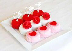 Как быстро сделать пирожные на День Святого Валентина?