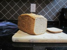 Spelt Bread Machine...I will try this soon.