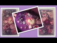 DIY Beaded Phone case, an embroidery introduction. Beading Tutorial by H...