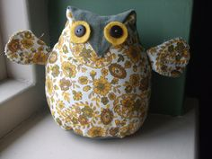 https://flic.kr/p/5ZLbJU | Edwin the Owl - made by Yvette | Isn't he gorgeous?!
