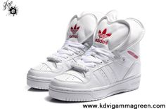 Buy Latest Listing Adidas Attitude Logo Double Heart Tongue Shoes White