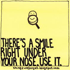Use it or lose it.  Only those who does not appreciate a smile will think you are insane. Just pure jealously.