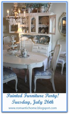 More painted furniture I want to paint my dinning room table