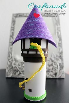 Dulcero Rapunzel -  Candy favor  Tangled party