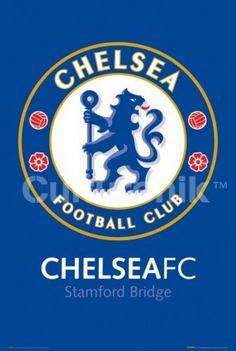 ca6c48838bf Chelsea FC Club Crest - Stamford Bridge Poster Print (36 X 24) - Item