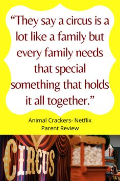 Animal Crackers Parent Review - Down The Hobbit Hole Blog Best Movie Quotes, Tv Show Quotes, Family Movie Night, Family Movies, Hobbit Hole, The Hobbit, Pg Tv, Movies To Watch Online, Disney Plus