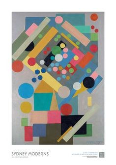 Ralph Balson Painting No. 17 Poster :: Gallery shop :: Art Gallery NSW