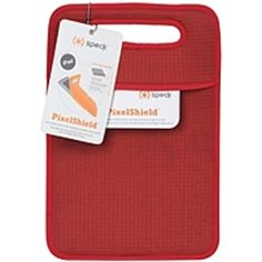 Speck Products PixelShield IPAD-PXSD-A07A08 Carrying Case (Sleeve) for iPad - Red - Neoprene - 13 Height x 0.3 Width x 8.5 Depth
