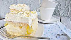 Ewa w kuchni: Ciasto cytrynowo - ananasowe