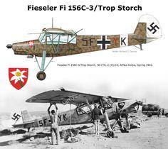 Fi 156C-3/Trop Storch .