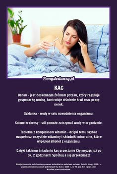 NIETYPOWE ALE SKUTECZNE ŚNIADANIE NA KACA, KTÓRE POSTAWI CIĘ NA NOGI! Good To Know, Healthy Life, Life Hacks, Beauty Hacks, Health Fitness, Tips, How To Make, Asia, Crafts