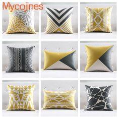 Modern Throw Pillows, Sofa Throw Pillows, Diy Pillows, Cushions On Sofa, Cheap Cushion Covers, Diy Pillow Covers, Decorative Pillow Covers, Decorative Throw Pillows, U Shaped Sectional Sofa