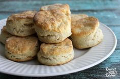 You'll never go back to canned biscuits again after making your own Southern Style Biscuits!