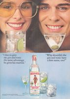 Beefeater Mixed Drinks 1978 Ad Picture
