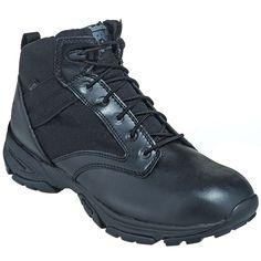 Timberland Pro Boots Men's TB092635 001 Black Tactical Waterproof EH Side-Zip Boots