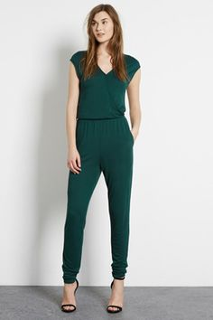 Check out this Wrap Front Jumpsuit from Warehouse.