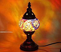 Светильник настольный мозаичный