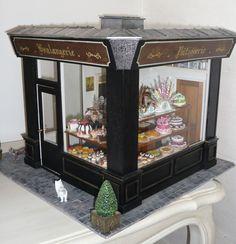 """La boulangerie """"Au blé d'or"""" - Mooghis cath boutiques miniatures"""