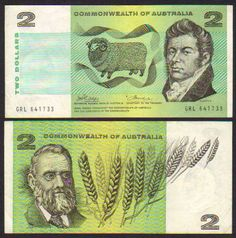 The Australian $2 paper note was replaced in 1988 with a gold $2 coin. ..At least you could smell paper money!