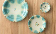 ノモ陶器 沖縄やちむん 緑釉 7寸皿 通販サイト コロカル商店×リンベル