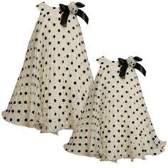 Size-2T BNJ-4736X IVORY BLACK Flock and Foil Dot Sunburst Pleat Mesh Overlay Trapeze Special Occasio Flower Girl Holiday Dress,X64736 Bonnie Jean GIRLS Bonnie Jean, http://www.amazon.com/dp/B009LYD472/ref=cm_sw_r_pi_dp_T4UBqb199ECNB
