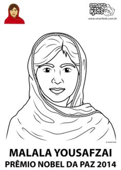 Easy worksheet about Malala, the youngest winnter of the