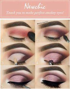 Lidschatten-Tutorial Eyeshadow Tutorial make up # Eye shadow make up Makeup Tips Eyeshadow, Eyeshadow Looks, Hair Makeup, Peachy Eyeshadow, Eyeshadow Styles, Contour Makeup, Drugstore Makeup, How To Eyeshadow, Glitter Eyeshadow Tutorial