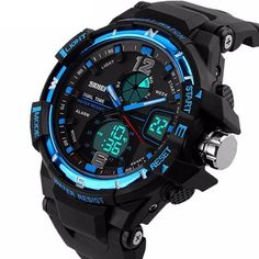 G Style Fashion Digital-Watch  Dial Window Material Type:  Resin    Water Resistance Depth:  5Bar    Movement:  Digital    Dial Diameter:  5.1mm    Clasp Type:  Buckle    Feature:  Shock Resistant,LED display,Auto Date,Chronograph,Complete Calendar,Diver,Multiple Time Zone,Water Resistant,Alarm    Case Shape:  Round    Band Length:  24cm    Band Width:  26mm    Case Thickness:  13mm  http://www.leonardwatches.it/products/g-style-fashion-digital-watch