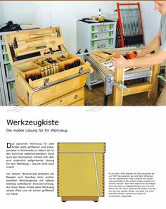 #385 Plywood Tool Chest Plans - Workshop Solutions