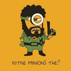 Whether you've seen Minions or not, you just cannot miss these desi versions of the yellow beings. From Salman Khan to Crime Master Gogo, from Tamils to Punjabis, everyone has a mini-me minion. Here are our 10 favourites: Disney Drawings Sketches, Cartoon Sketches, Indian Illustration, Funny Illustration, Illustrations, Doodle Art Drawing, Cool Art Drawings, Minion Painting, Funny Cartoon Quotes