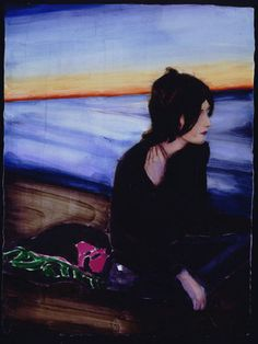 """September (Ben)"", de Elizabeth Peyton. 2001"