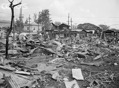 Japanese bombs didn't fall only on military targets. Parts of Waikiki were reduced to burned-out refrigerators and mangled bicycles. Other residents living in the hills were unaffected by the raid; some of them watched the havoc in astonishment from their front lawns. The tourist hotels were away from the line of fire, too.