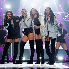 Little Mix performs live at BBC Radio 1's Teen Awards in London
