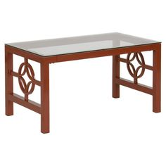 I pinned this Medallion Coffee Table in Deep Bronze from the Refined Reflections event at Joss and Main!