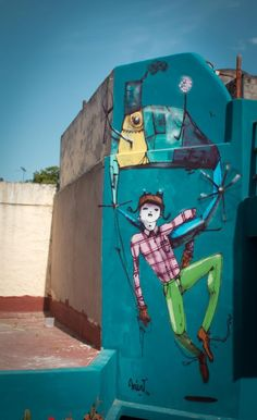 Via: http://houhouhaha.fr/young-artist-collectif-argentin Web: http://www.streetartmap.com.ar/