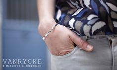 ARGENT // #Vanrycke #silver #bracelet Make a wish @ Matières à réflexion