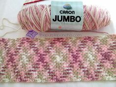 Planned Color Pooling Crochet Argyle Super Scarf - The Purple Poncho Crochet Poncho, Love Crochet, Crochet Scarves, Crochet Crafts, Crochet Yarn, Crochet Hooks, Pooling Crochet, Caron Yarn, Crochet Stitches Patterns