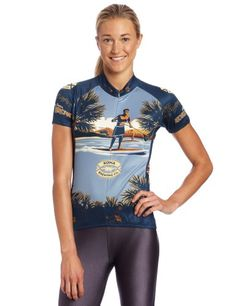 Canari Womens KBC Kona Brown Jersey Large Multi     Visit the image link  more 3b429bd17
