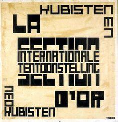Theo van Doesburg, 1920 - DeStjl