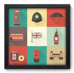 Quadro Decorativo - Inglaterra - 050qdmp